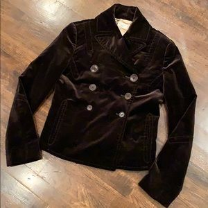 Paul Smith Detailed Velvet Jacket Coat Sz 42 EUC!